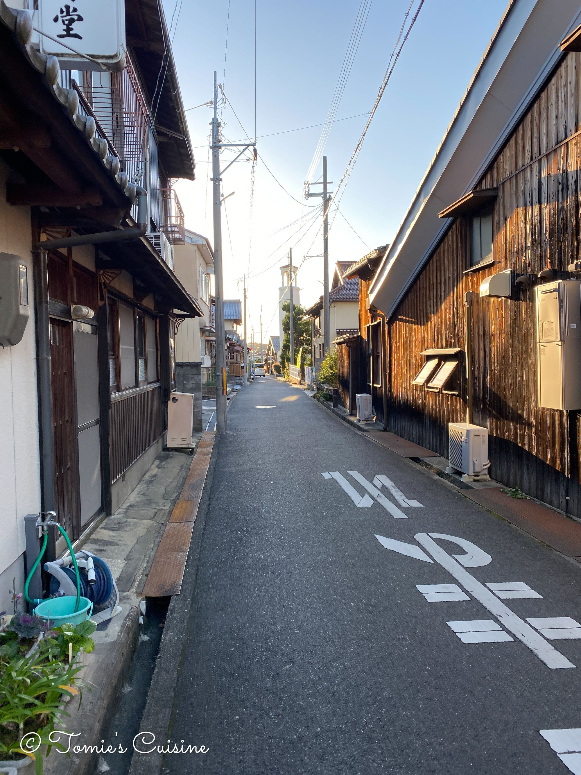 A street in Omi-Hachiman