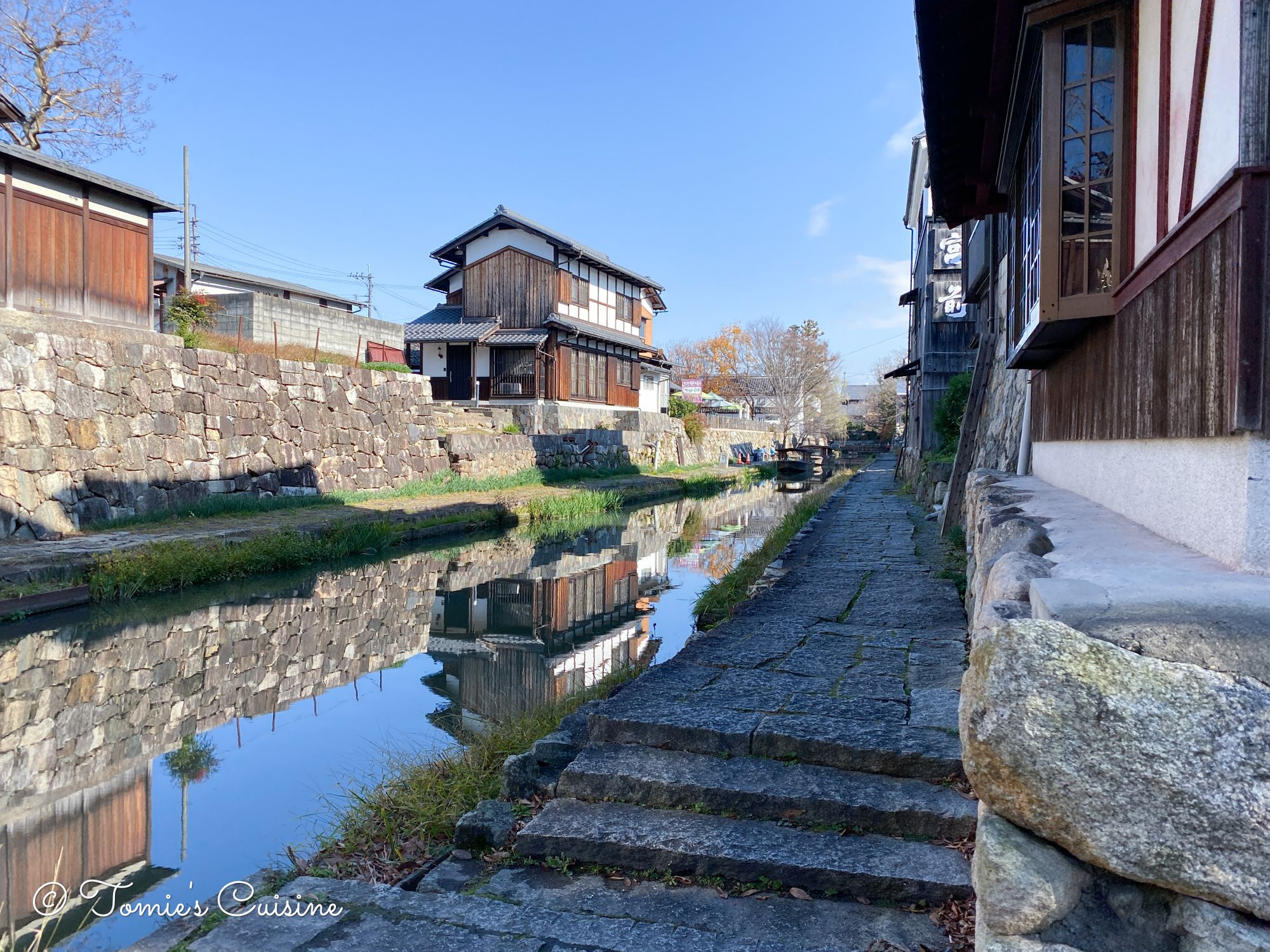 View from the Hachimanbori canal