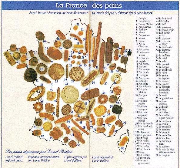 Lionel Poilane's map