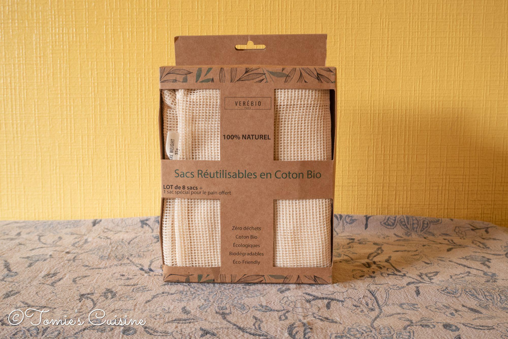 Verebio's packaging
